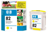 HP C4913A (HP 82) Yellow Ink Cartridge Original Genuine OEM