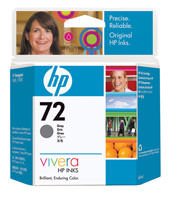 HP C9401A (HP 72) Gray Ink Cartridge Original Genuine OEM