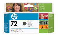 HP C9403A (HP 72) Matte Black Ink Cartridge Original Genuine OEM