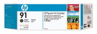 HP C9464A (HP 91) Matte Black Pigment Ink Cartridge Original Genuine OEM
