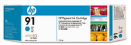 HP C9467A (HP 91) Cyan Pigment Ink Cartridge Original Genuine OEM
