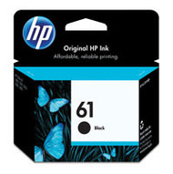 HP CH561WN (HP 61) Black Ink Cartridge Original Genuine OEM