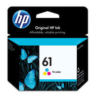 HP CH562WN (HP 61) Tri-Color Ink Cartridge Original Genuine OEM