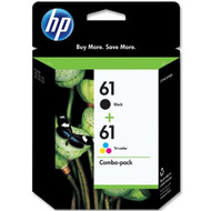 HP CR259FN (HP 61) Black & Tri-Color Inkjet Cartridge Multipack Original Genuine OEM