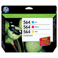 HP B3B33FN (HP 564) Ink Cartridge Combo Pack (C/M/Y) Original Genuine OEM