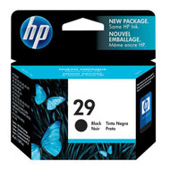 HP 51629A (HP 29) Black Ink Cartridge Original Genuine OEM
