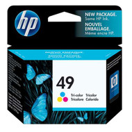 HP 51649A (HP 49) Tri-Color Ink Cartridge Original Genuine OEM