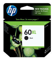 HP CC641WN (HP 60XL) Black Ink Cartridge Original Genuine OEM