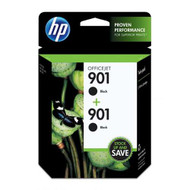 HP CZ075FN (HP 901) Black Ink Cartridge 2-pack Original Genuine OEM