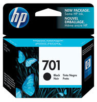 HP CC635A (HP 701) Black Ink Cartridge Original Genuine OEM