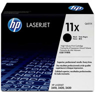 HP Q6511X (HP 11X) High Yield Black Toner Cartridge Original Genuine OEM