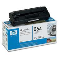 HP C3906A (HP 06A) Black Toner Cartridge Original Genuine OEM