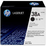 HP Q1338A (HP 38A) Black Toner Cartridge Original Genuine OEM
