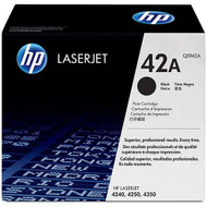 HP Q5942A (HP 42A) Black Toner Cartridge Original Genuine OEM