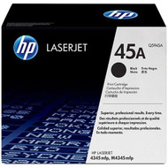 HP Q5945A (HP 45A) Black Toner Cartridge Original Genuine OEM