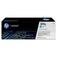 HP CE411A (HP 305A) Cyan Toner Cartridge Original Genuine OEM