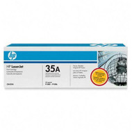 HP CB435A (HP 35A) Black Toner Cartridge Original Genuine OEM