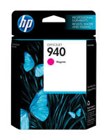 HP C4904AN (HP 940) Magenta Ink Cartridge Original Genuine OEM