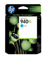 HP C4907AN (HP 940XL) Cyan Ink Cartridge Original Genuine OEM