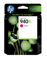 HP C4908AN (HP 940XL) Magenta Ink Cartridge Original Genuine OEM