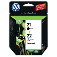 HP C9509FN Black & Tri-Color Inkjet Cartridge Multipack Original Genuine OEM