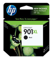 HP CC654AN (HP 901XL) High Yield Black Ink Cartridge Original Genuine OEM