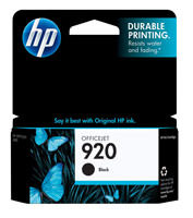 HP CD971AN (HP 920) Black Ink Cartridge Original Genuine OEM