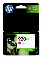HP CD973AN (HP 920XL) Magenta Ink Cartridge Original Genuine OEM