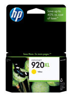 HP CD974AN (HP 920XL) Yellow Ink Cartridge Original Genuine OEM