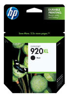 HP CD975AN (HP 920XL) High Yield Black Ink Cartridge Original Genuine OEM