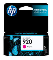 HP CH635AN (HP 920) Magenta Ink Cartridge Original Genuine OEM
