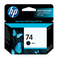 HP CB335WN (HP 74) Black Ink Cartridge Original Genuine OEM
