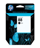 HP C9385AN (HP 88) Black Ink Cartridge Original Genuine OEM