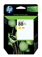 HP C9393AN (HP 88XL) Hi-Yield Yellow Ink Cartridge Original Genuine OEM