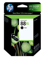 HP C9396AN (HP 88XL) Hi-Yield Black Ink Cartridge Original Genuine OEM