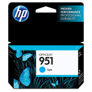 HP CN050AN (HP 951) Cyan Ink Cartridge Original Genuine OEM