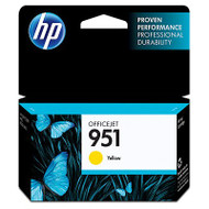 HP CN052AN (HP 951) Yellow Ink Cartridge Original Genuine OEM