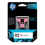 HP C8775WN (HP 02) Light Magenta Ink Cartridge Original Genuine OEM