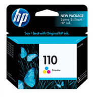 HP CB304AN (HP110) Tri-Color Ink Cartridge Original Genuine OEM
