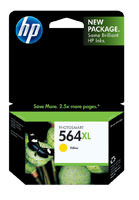 HP CB325WN (HP 564XL) Yellow Ink Cartridge Original Genuine OEM