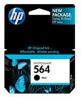 HP CB316WN#140 (HP 564) Black Ink Cartridge Original Genuine OEM