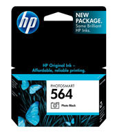 HP CB317WN#140 (HP 564) Photo Black Ink Cartridge Original Genuine OEM