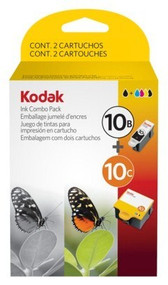 Kodak 8367849 (No. 10XL) Black & Tri-Color Inkjet Cartridge Multipack Original Genuine OEM