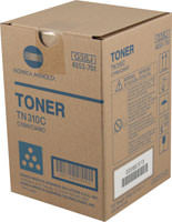Konica-Minolta TN-310C Cyan Toner Cartridge Original Genuine OEM