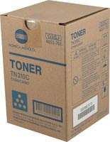 Konica-Minolta TN-310C Cyan Toner Cartridge Original Genuine OEM