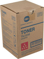 Konica-Minolta TN-310M Magenta Toner Cartridge Original Genuine OEM