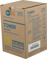 Konica-Minolta TN-310Y Yellow Toner Cartridge Original Genuine OEM