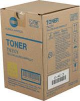 Konica-Minolta TN-310Y Yellow Toner Cartridge Original Genuine OEM