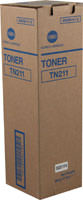 Konica-Minolta TN-211 Black Toner Cartridge Original Genuine OEM