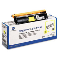 Konica-Minolta 1710587-001 Yellow Toner Cartridge Original Genuine OEM